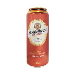 Cerveza Rubia Mecklenburger Pilsener 500 Cc.