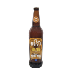 Cerveza Rubia Rabieta Golden Ale