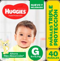 Pañal Huggies Triple Protección  Gx40