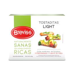 Breviss Tostaditas Light Harina Integral