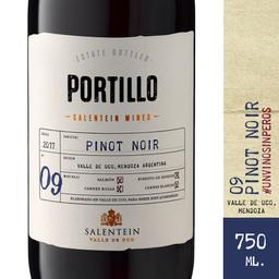 Vino Tinto Pinot Noir Portillo 750 Cc.