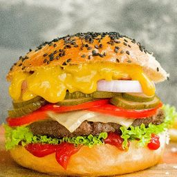 White Dakota Burger