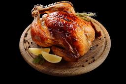 Pollo a la Parrilla con Fritas