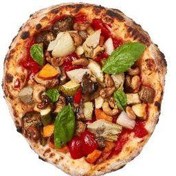 Pizza Estilo Napolitana - Vegan