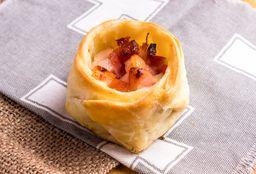 Canastita de Roquefort & Panceta