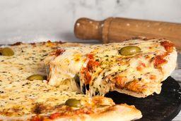Pizza de Muzza , 2 Fainá y Bebida