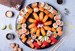 Tabla Sushi & Roll X 48