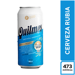 Quilmes Rubia Clásica 473 cc