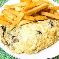 Omelette de Champiñones con Acompañamien