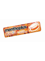 Caramelos Menthoplus acido Sabor Naranja 28.8 g