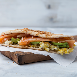 Sándwich Slim de Salmón Ahumado