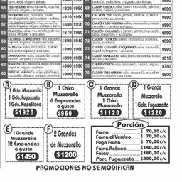Promo Pizzas & Empanadas