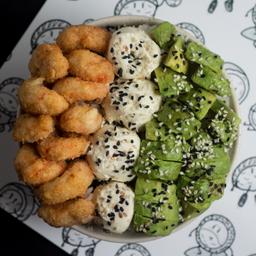 Shrimps Sushi Salad