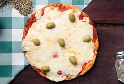 Pizza Muzza & 4 Empanadas