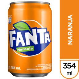 Fanta Naranja 354 ml