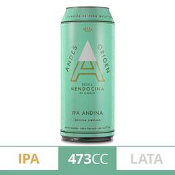 Andes Origen Cerveza Ipa Lata