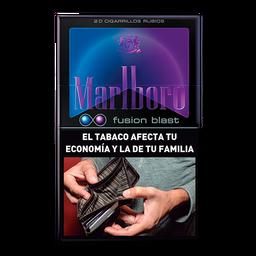 Cigarrillos Marlboro Fusion Blast Box 20U