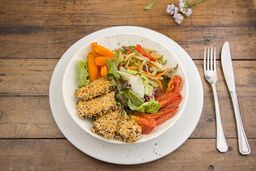 Ensalada de Tofu Marinado