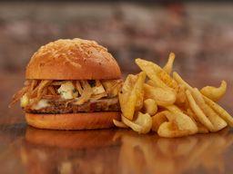Norman Veggie Burger & Guarnición