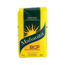 Yerba Mate Mañanita Bcp 1/2 Kg