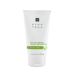 Gel Facial Avon True de Limpieza Refescante 150 g