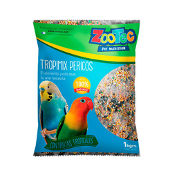 Tropimix Pericos X 1 Kg -Zootec-