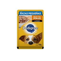 Pedigree Adulto Raza Peq Pollo Salsa X 100Grs (12)
