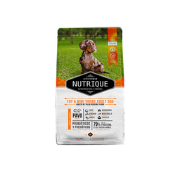 Nutrique Toy & Mini Young Adult Dog X 3 Kg