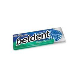 Chicles Beldent Mentol Turbo 10Grs
