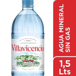 Agua Natural Villavicencio 1.5 L