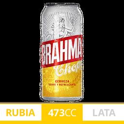 Cerveza Brahma Chopp Lata 473 mL