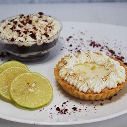 Promo Terciopelo Rojo + Lemon Pie