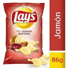 Lays Jamón Serrano 86g