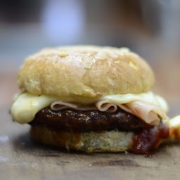 Combo Burger de Jamón