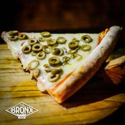 Pizza Green Olive Porción XXL