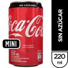 Coca-Cola Sin azúcar 220ml.