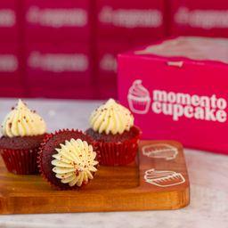 Mini Cupcake Red Velvet X 3