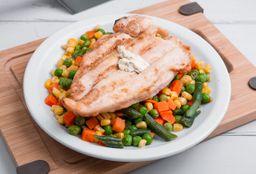 Pollo Grill + Vegetales Asados
