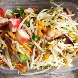 Chop Suey con Mariscos