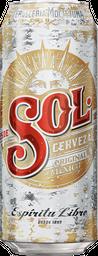 Cerveza Sol Lata 473ml