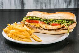 Sándwich Matambre Carne A Mi Nooo