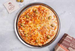 Pizza Muzza + 6 Empanadas