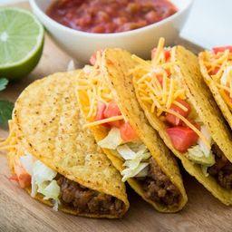 Combo de 5 Tacos Crujientes Americanos