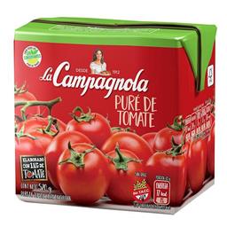 Pure De Tomate La Campagnola Tetrabrik 520 Gr