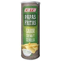Coto Papas Fritas Crema Y Cebolla