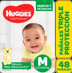 Pañal Huggies Triple Protección  Mx48