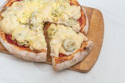 Pizza de Alcauciles