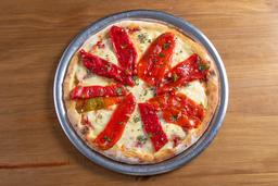 Pizza de Pimientos