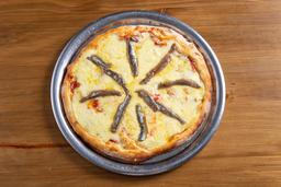 Pizza de Anchoas con Mozzarella