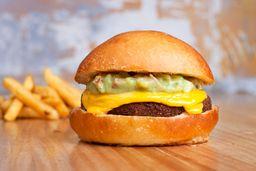 Burger Falafel Guacamole